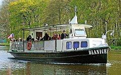 Přívoz bude zajišťovat výletní loď Blanice.