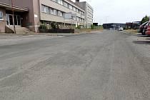 Opravená Dopravní ulice.