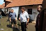 Natáčení nové pohádky v přerovském skanzenu.