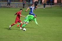 Union Čelákovice vedl tři nula, nakonec o dva góly prohrál