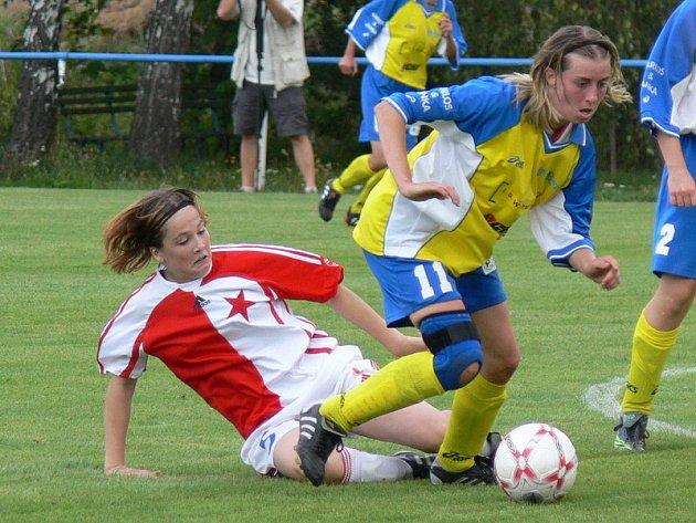 Ženy Staré Lysé prohrály se Slavií 0:1.