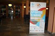 Sportování rodičů s dětmi v SC Nymburk