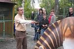 V chlebské zoo slavnostně otevřeli pavilon gepardů. Ten má i ložnici