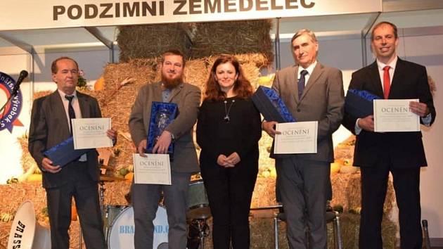 Z vyhlášení nejlepších zemědělských hospodářů Středočeského kraje v Lysé nad Labem.