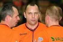 Z basketbalového utkání Mattoni NBL Nymburk - Prostějov 103:95.