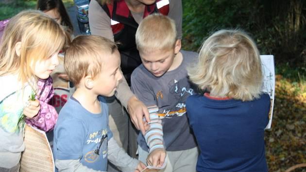 Děti v Nymburce prošly pohádkovým lesem.