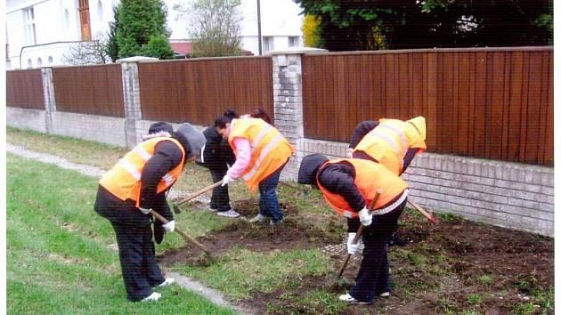 Romská pracovní skupina pracovala v červnu v poděbradských ulicích