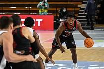 Z basketbalového utkání Ligy mistrů Dijon - Nymburk (85:61)