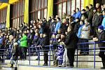 Z hokejového utkání druhé ligy Nymburk - Kolín (0:2)
