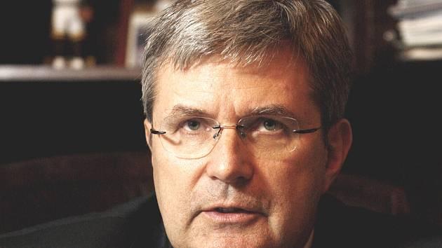 Miroslav Jansta, předseda České unie sportu.