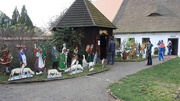 Lidové Vánoce v Polabí v přerovském skanzenu