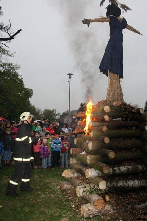 Čarodějnice v Nymburce.