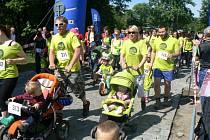 Z poděbradského běhu Run for help a doprovodného programu