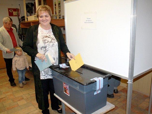 Novou středočeskou radní se stala senátorka Emilie Třísková (ČSSD).