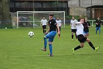 Z fotbalového utkání I.A třídy Libice nad Cidlinou - Čelákovice (1:2)