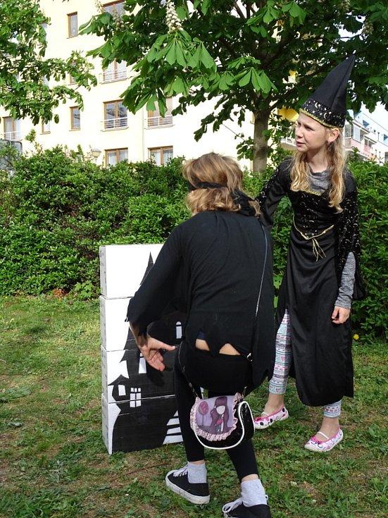Velký čarodějnický slet hostil Dům dětí a mládeže Symfonie v Poděbradech v roce 2019.
