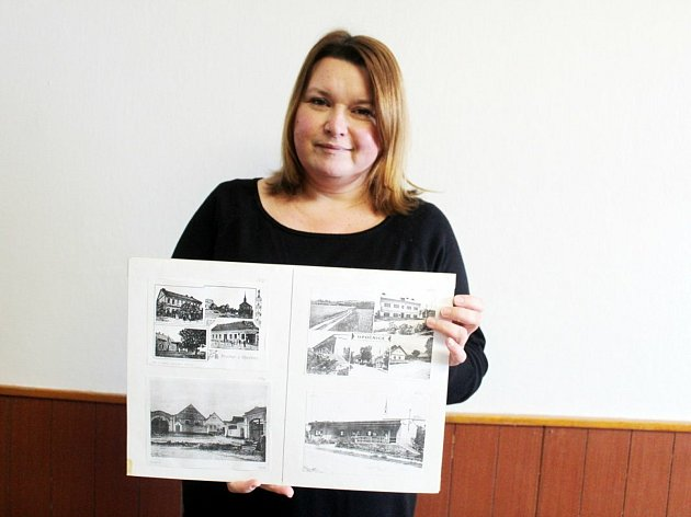 Lada Potůčková, kronikářka a knihovnice vOpočnici.