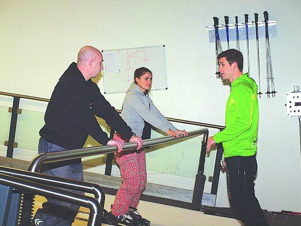 Ondřej Vokatý a Lada Pourová se ve Skicentru  Heemskerk v Holandsku učili nezbytné základy a teorie.