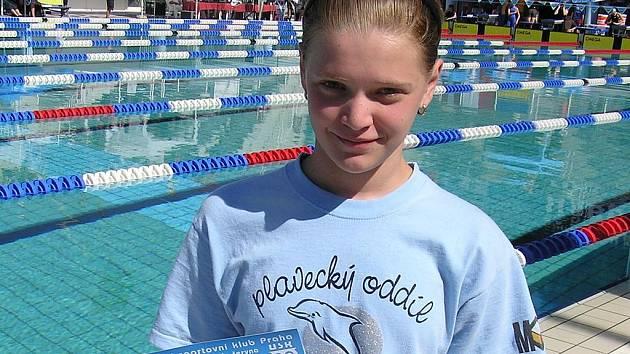 Klára Kotrmanová si přivezla zlatou medaili