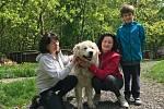 Maxo s novou rodinou.
