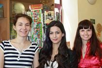 Turecká studentka na odborné stáži v Nymburce