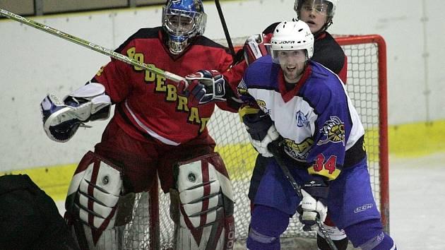 Poděbradští hokejisté mají za sebou první mistrovskou sezonu po několika letech. A docela úspěšnou