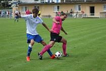 Z fotbalového utkání I.A třídy Čelákovice - Lysá nad Labem (5:2)