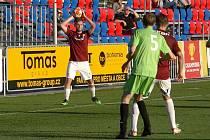 Z fotbalového utkání krajského přeboru Bohemia Poděbrady - Slovan Lysá nad Labem (3:0)