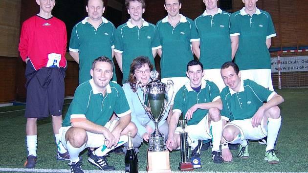 Vítězem Milovické ligy malého fotbalu se stalo družstvo Starobrno