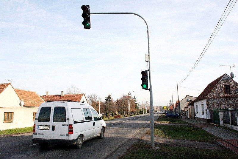 Semafor, který obec zaplatila papírově třikrát