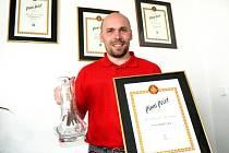 Sládek Bohumil Valenta už v Nymburce s nejcennější trofejí