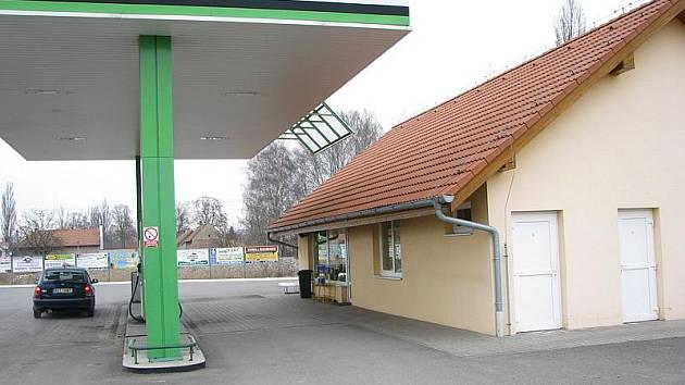 Čerpačka v Bobnicích