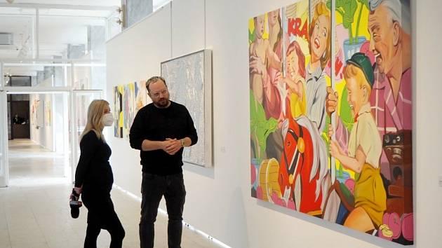 V poděbradské Galerii Ludvíka Kuby vystavuje Pasta Oner.