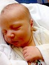 Tadeáš Korec, Horka nad Moravou, narozen 29. března v Olomouci, míra 51 cm, váha 3450 g