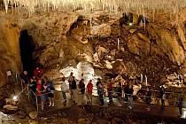 Javoříčské jeskyně - Suťový dóm