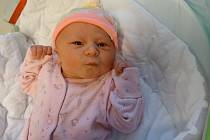 Lucie Maškulíková, Olomouc, narozena 3. prosince, míra 51 cm, váha 3554 g