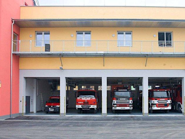 Nové operační středisko hasičů Ol. kraje ve Schweitzerově ulici v Olomouci
