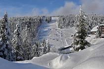 Parádní zima v okolí Červenohorského sedla v Jeseníkách - 31. 1. 2019