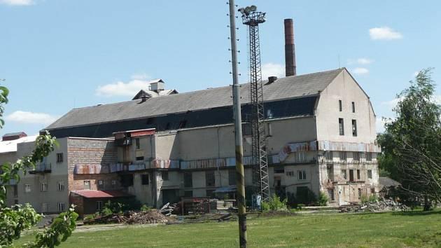 Bývalý cukrovar v Drahanovicích