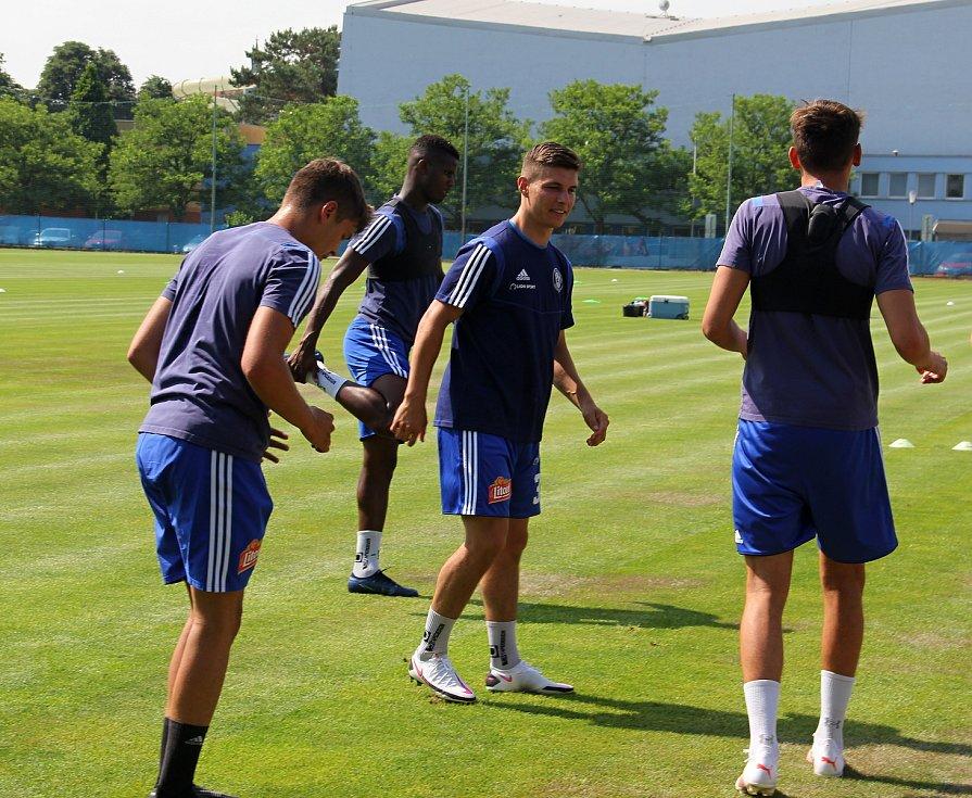 Fotbalová Sigma Olomouc zahájila přípravu na novou sezonu.Jiří Sláma