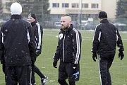 Jan Javůrek. Fotbalisté Sigmy zahájili přípravu na jarní část FNL