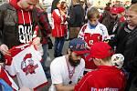 Loučení hokejistů HC Olomouc se sezonou ve společnosti fanoušků