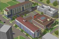 Vizualizace nových pracovišť PřF UP Olomouc na Envelopě