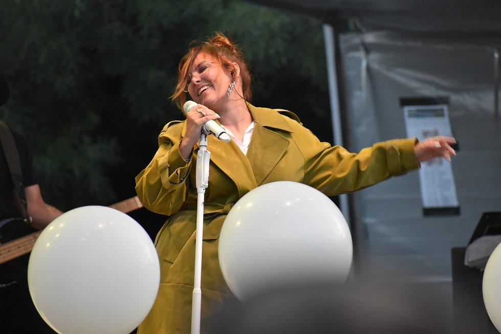 Festival Šternberský kopec 2021. Ewa Farna.