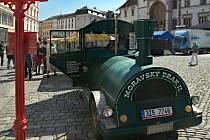 Turistický vláček v Olomouci