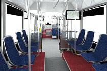 Interiér nové dvoustranné soupravy typu VarioLF plus/o
