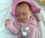 Michaela HodošI, Dvorce, narozen 20. března, míra 50 cm, váha 3330 g