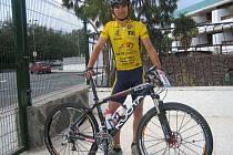 Cyklista Pavel Pastrnek by letos chtěl odjet co nejvíce závodů na horském kole. Chystá se na podniky doma i v cizině.