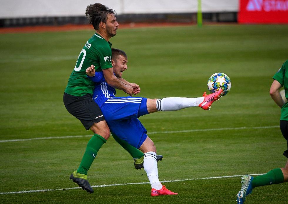 Fotbalisté Olomouce prohráli doma s Příbramí 1:2. David Houska