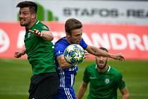 Fotbalisté Olomouce proti Příbrami. Ilustrační foto